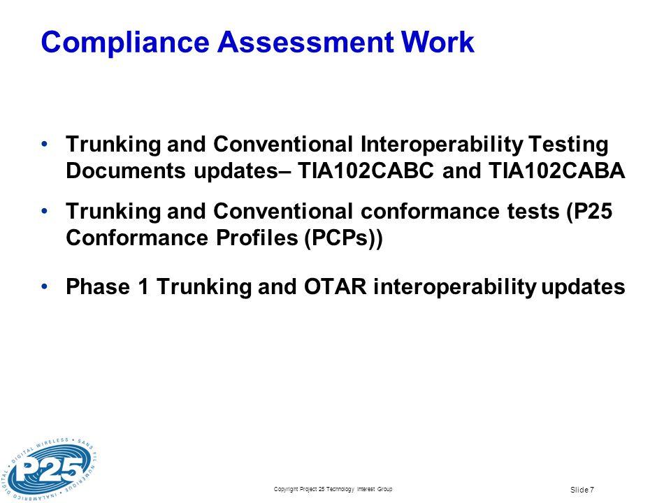 Compliance Assessment Work