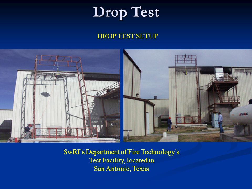 SwRI's Department of Fire Technology's Test Facility, located in