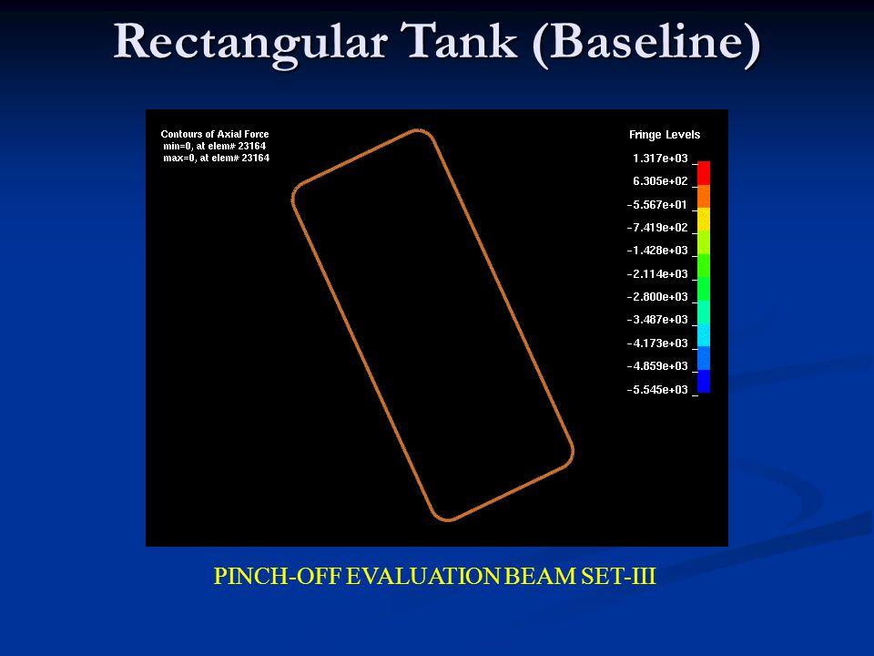 Rectangular Tank (Baseline)