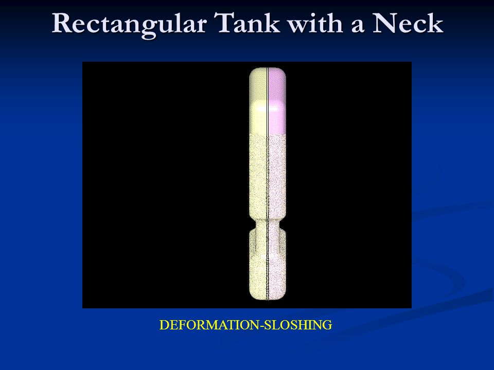 Rectangular Tank with a Neck