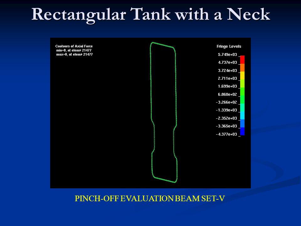Rectangular Tank with a Neck