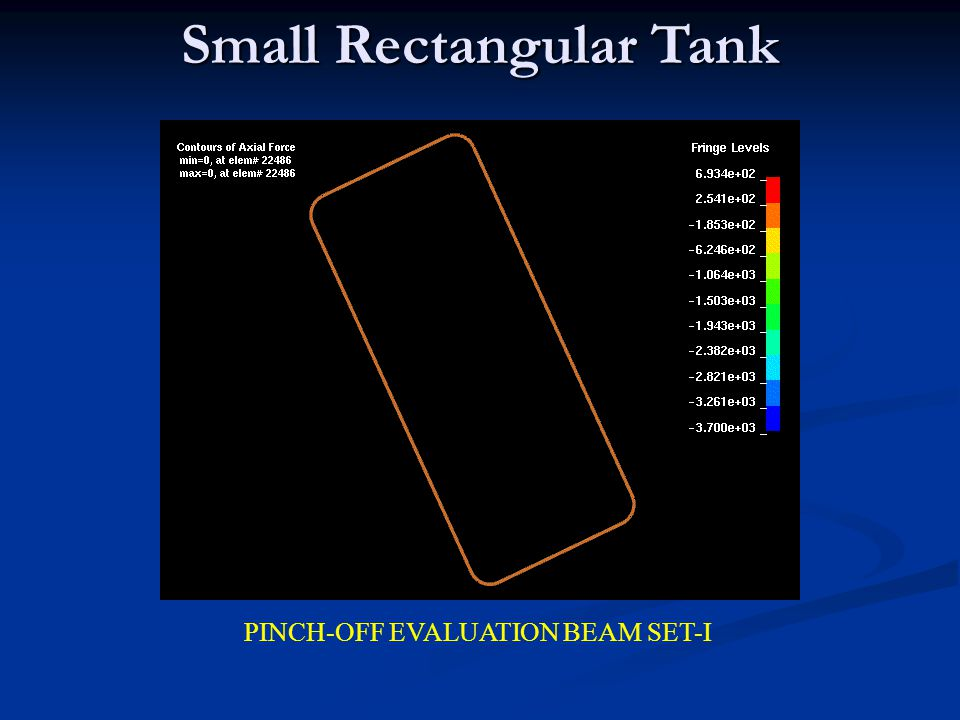 Small Rectangular Tank