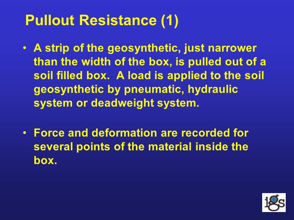 Pullout Resistance (1)