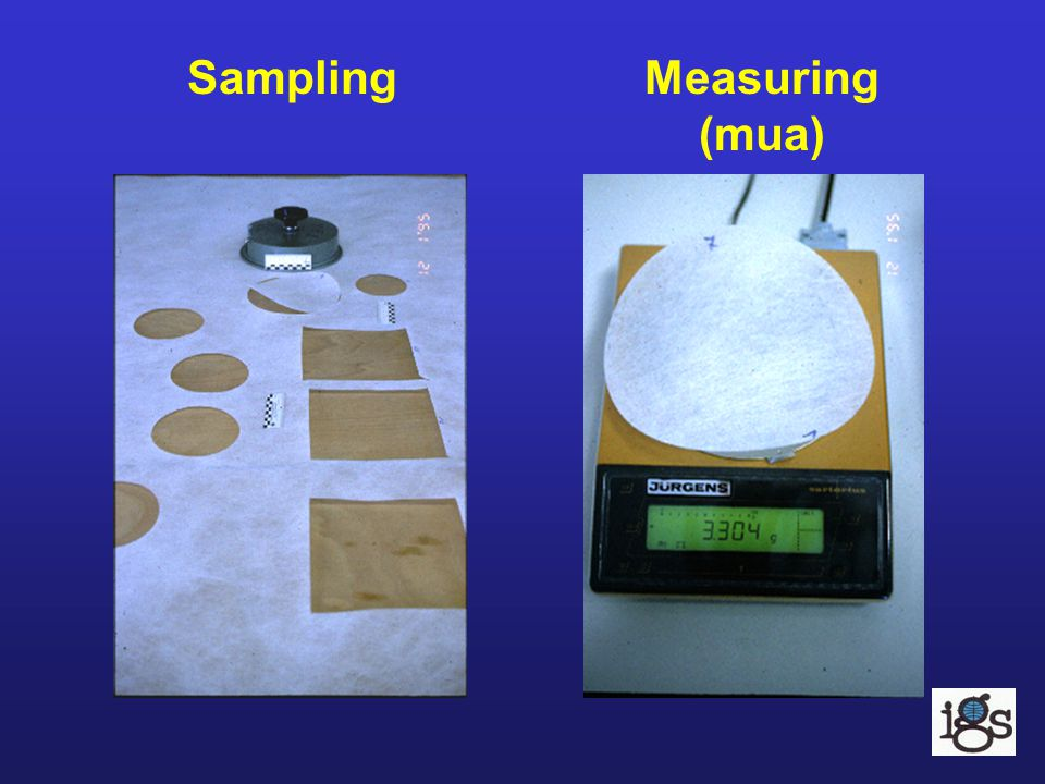 Sampling Measuring (mua)