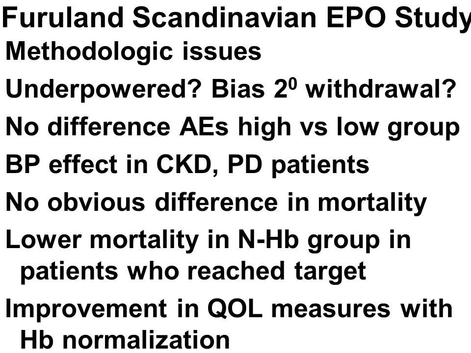 Furuland Scandinavian EPO Study