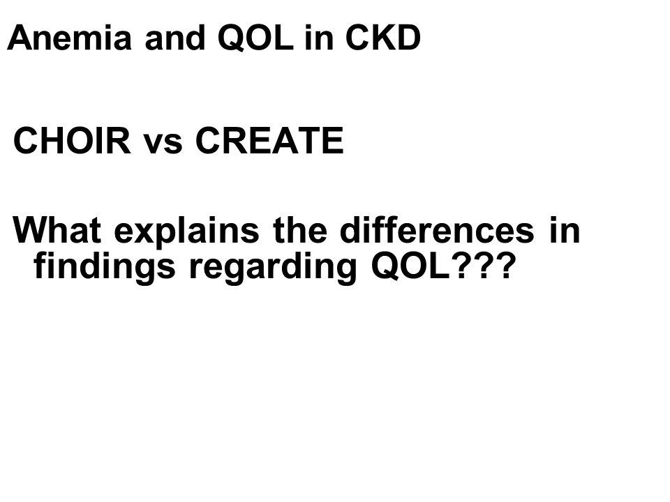 What explains the differences in findings regarding QOL