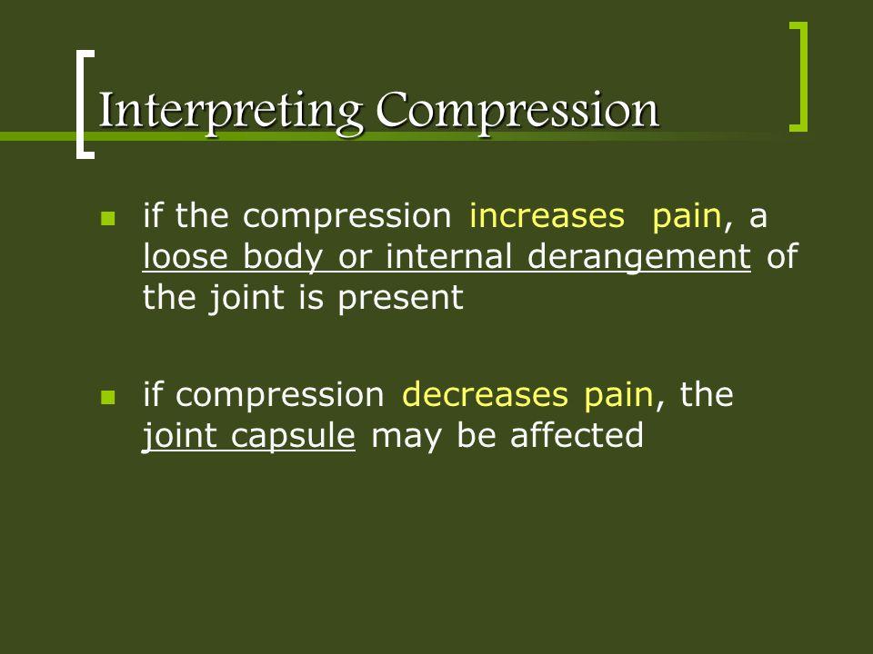 Interpreting Compression