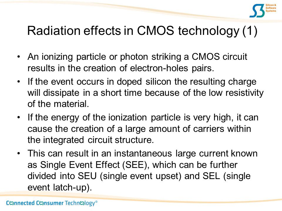 Radiation effects in CMOS technology (1)