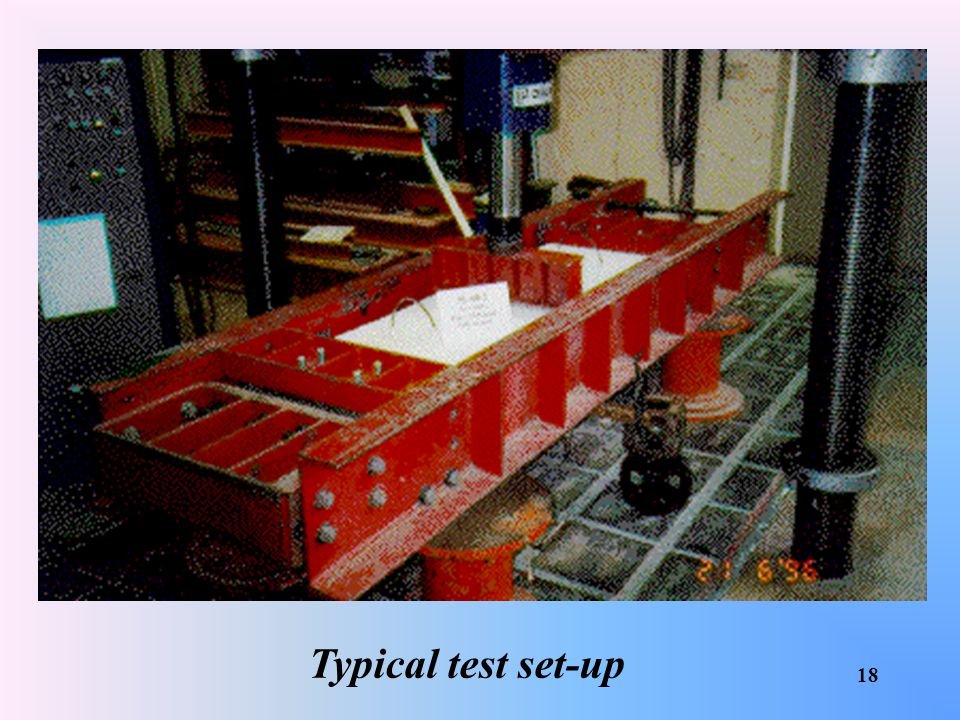Typical test set-up