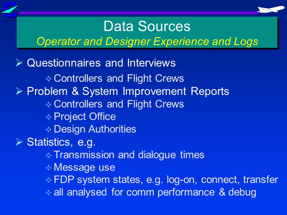 Data Sources Operator and Designer Experience and Logs