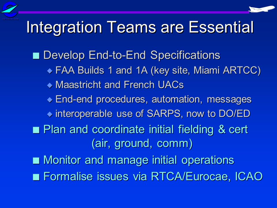 Integration Teams are Essential