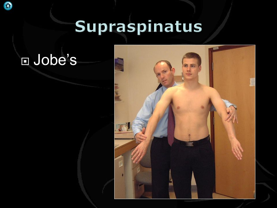 Supraspinatus Jobe's