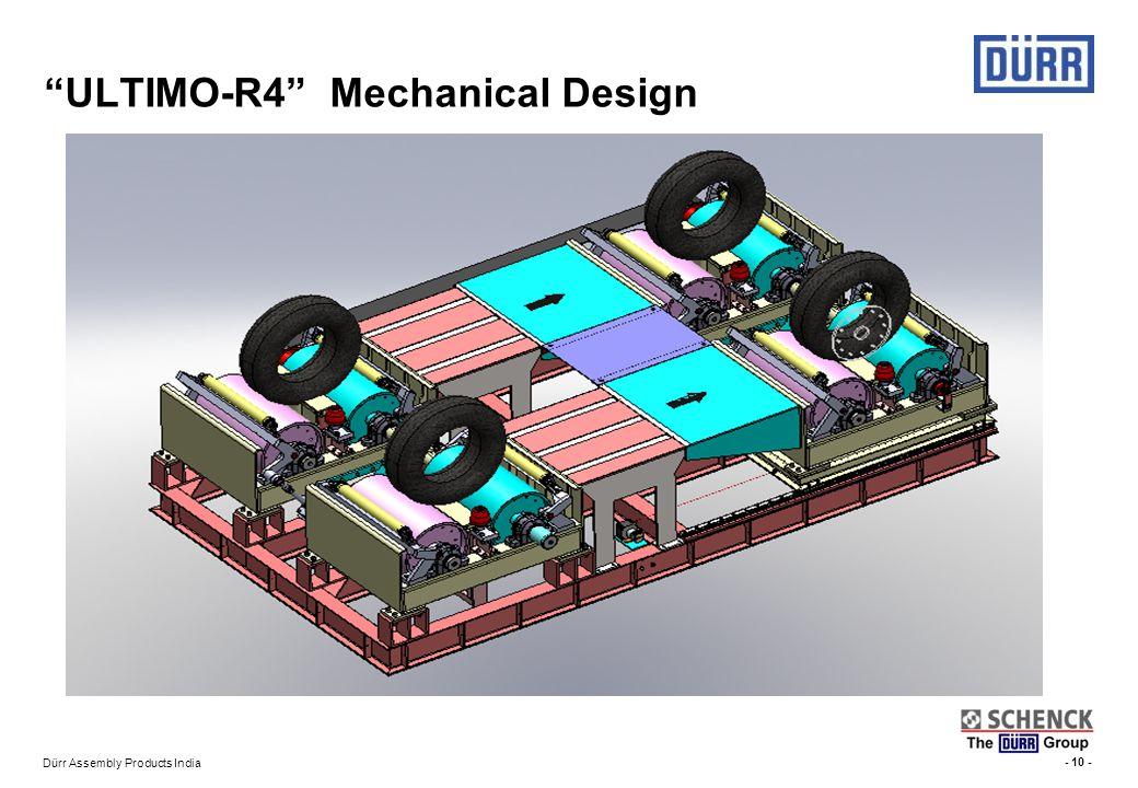 ULTIMO-R4 Mechanical Design