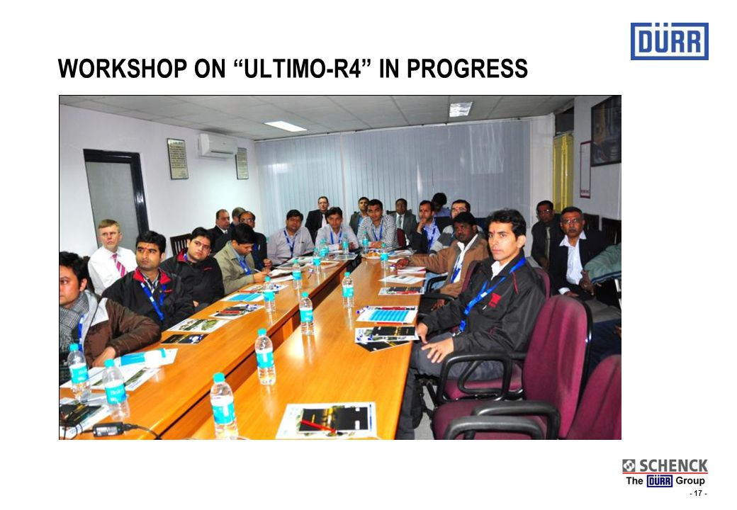 WORKSHOP ON ULTIMO-R4 IN PROGRESS