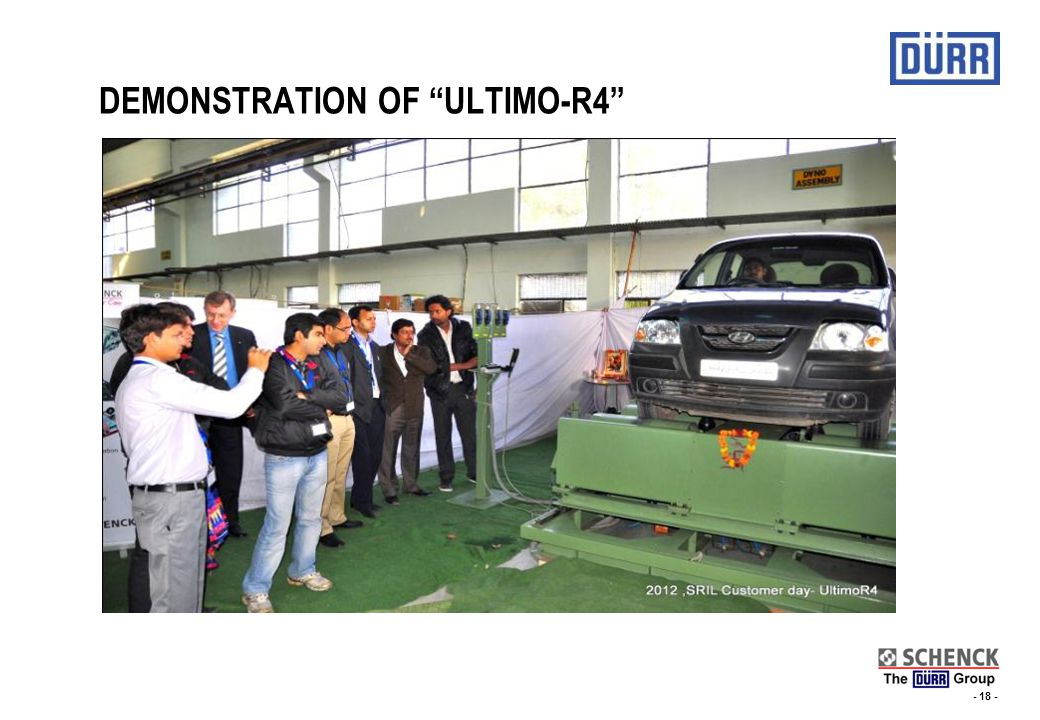 DEMONSTRATION OF ULTIMO-R4