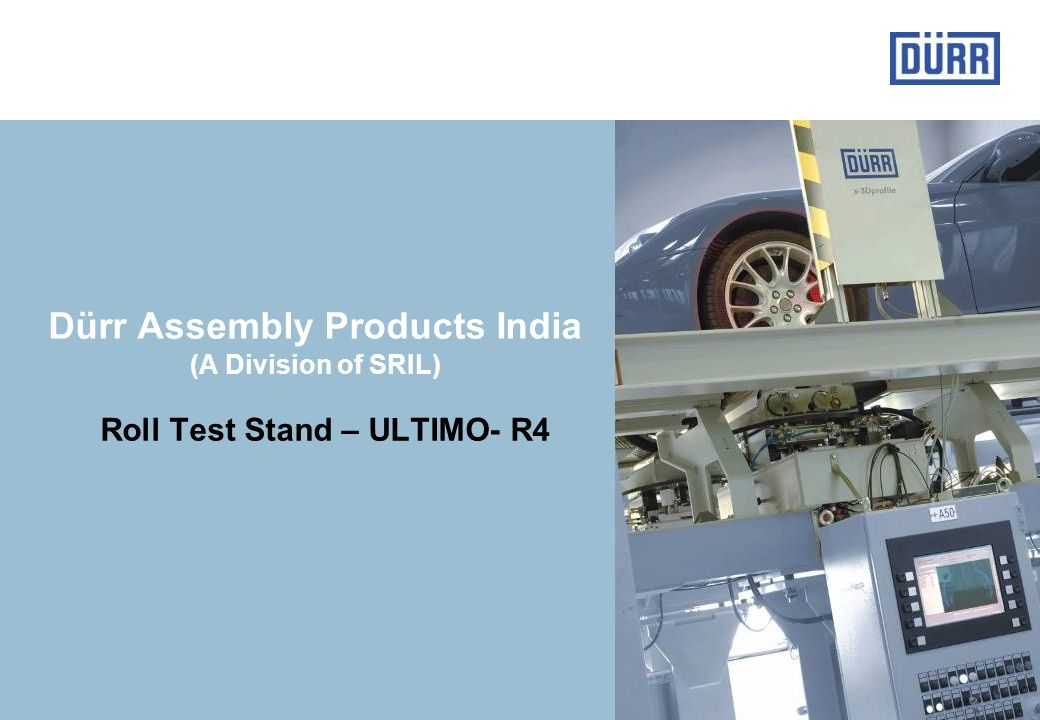 Dürr Assembly Products India (A Division of SRIL)