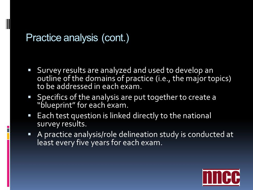 Orientation to certification ppt video online download 21 practice malvernweather Choice Image