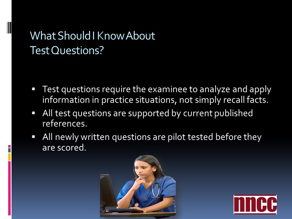 What Should I Know About Test Questions