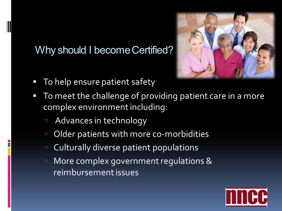 Why should I become Certified