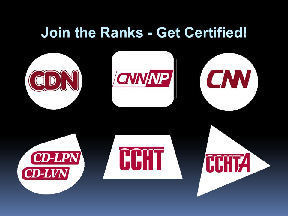Join the Ranks - Get Certified!