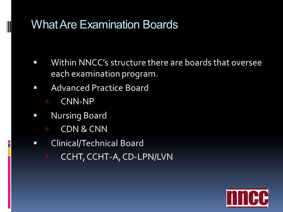 What Are Examination Boards