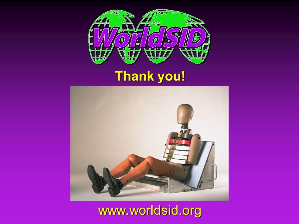Thank you! www.worldsid.org