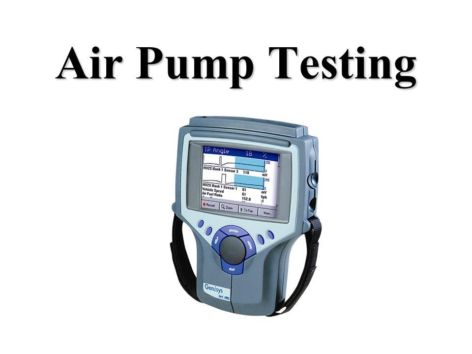Air Pump Testing