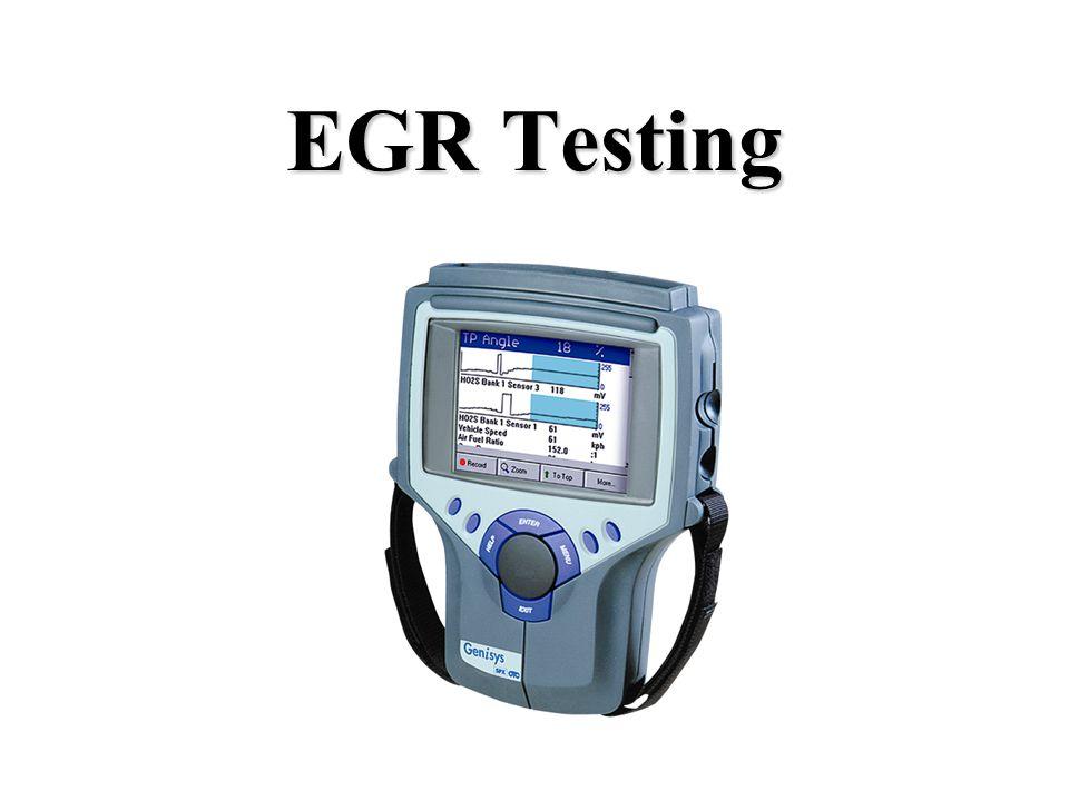 EGR Testing