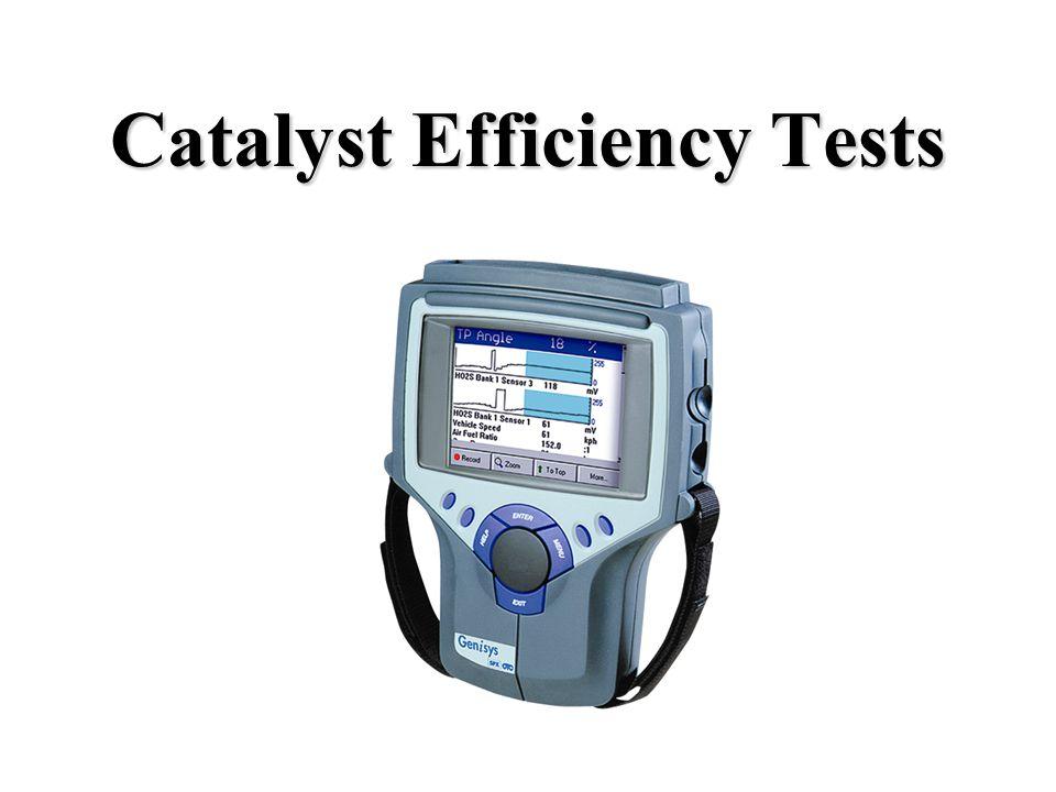 Catalyst Efficiency Tests