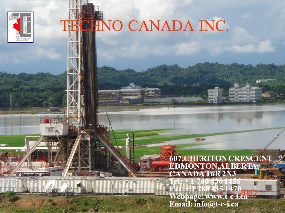 TECHNO CANADA INC. 607,CHERITON CRESCENT EDMONTON,ALBERTA,