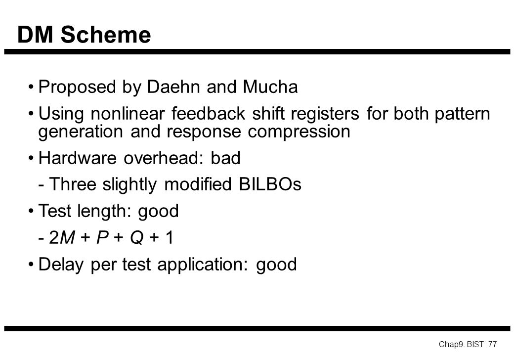 DM Scheme Proposed by Daehn and Mucha