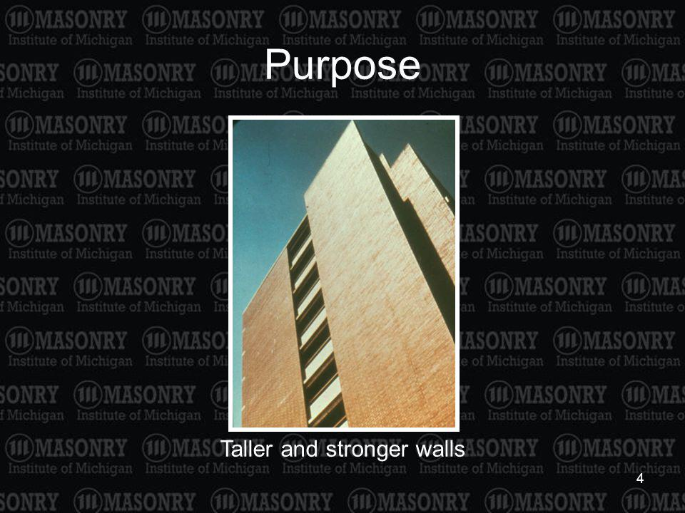 Taller and stronger walls