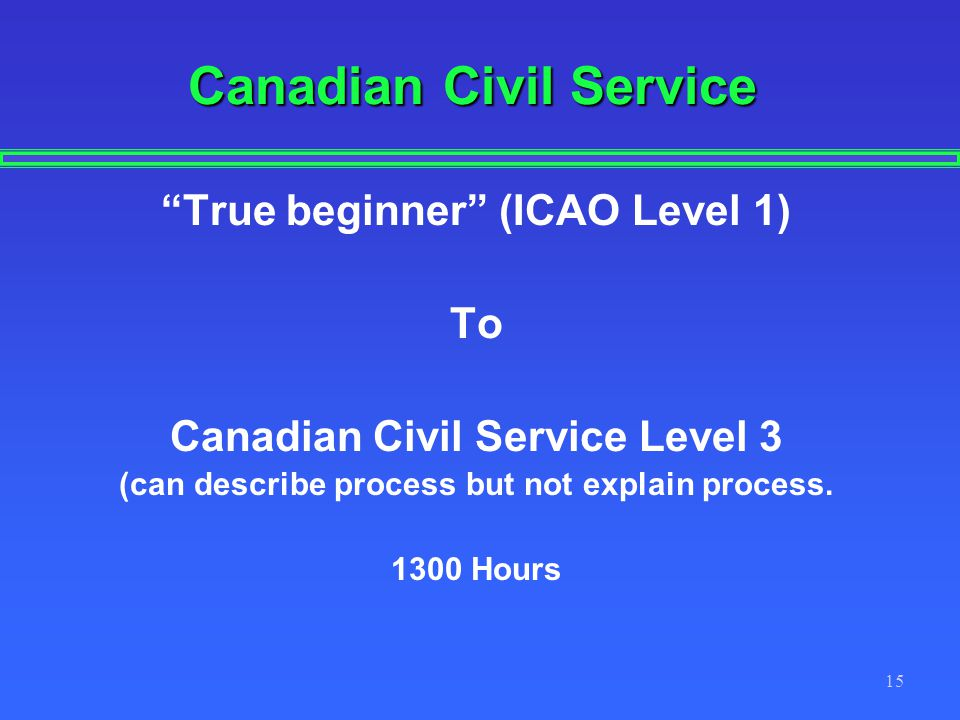 Canadian Civil Service