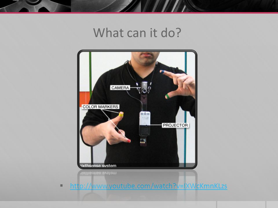 What can it do http://www.youtube.com/watch v=IXWcKmnKLzs