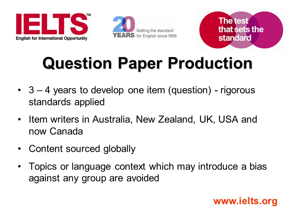 Question Paper Production