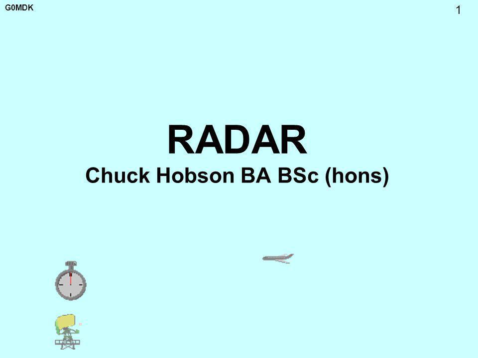 RADAR Chuck Hobson BA BSc (hons)