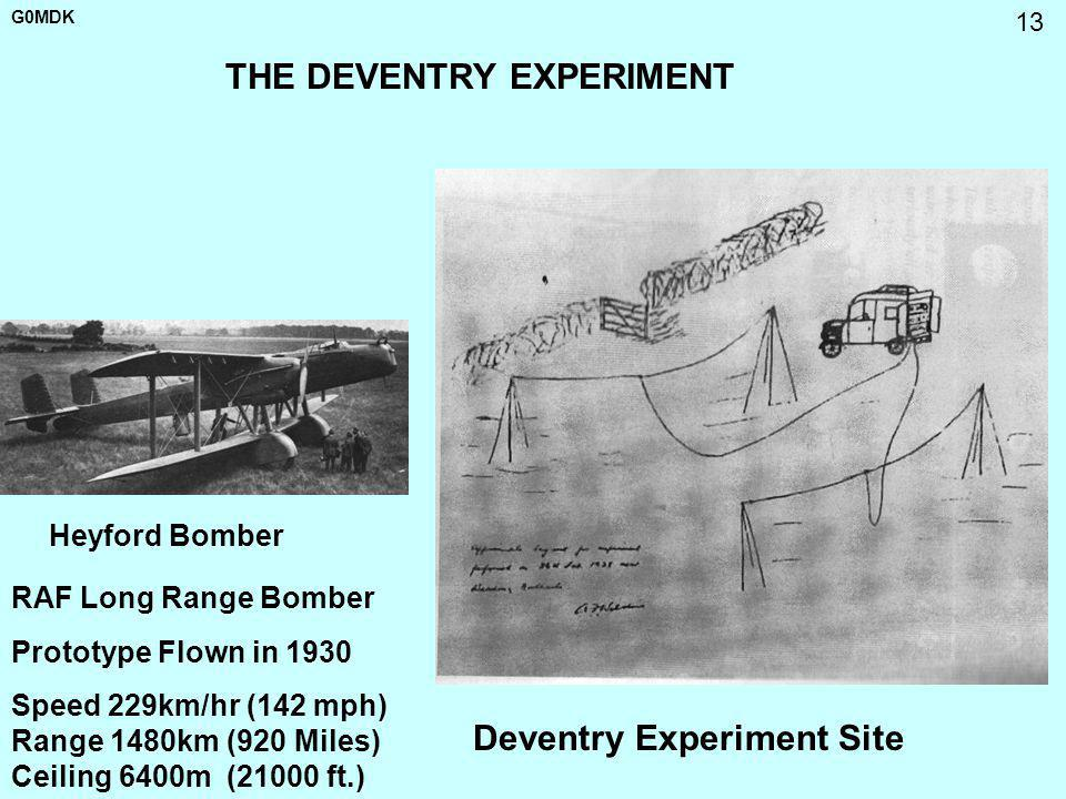 THE DEVENTRY EXPERIMENT