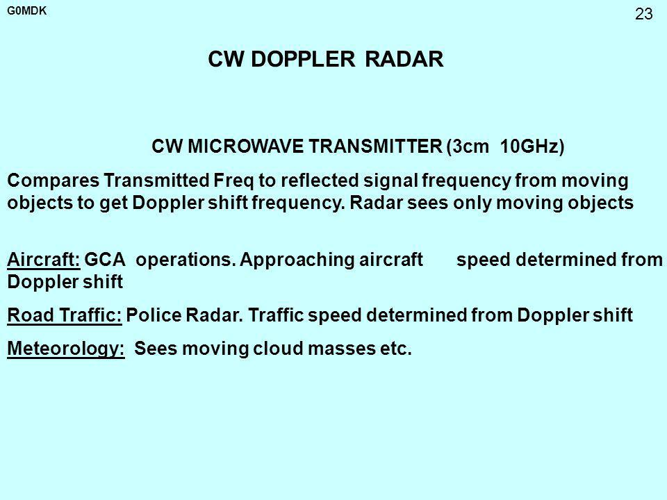 CW MICROWAVE TRANSMITTER (3cm 10GHz)