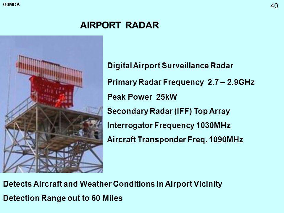 AIRPORT RADAR Digital Airport Surveillance Radar