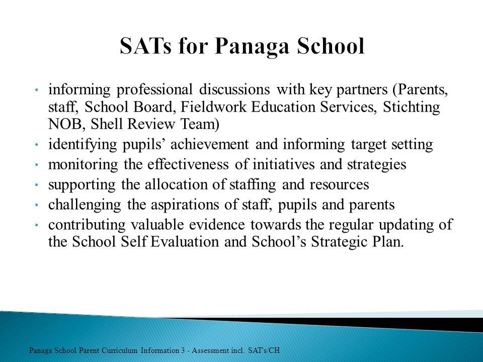 SATs for Panaga School