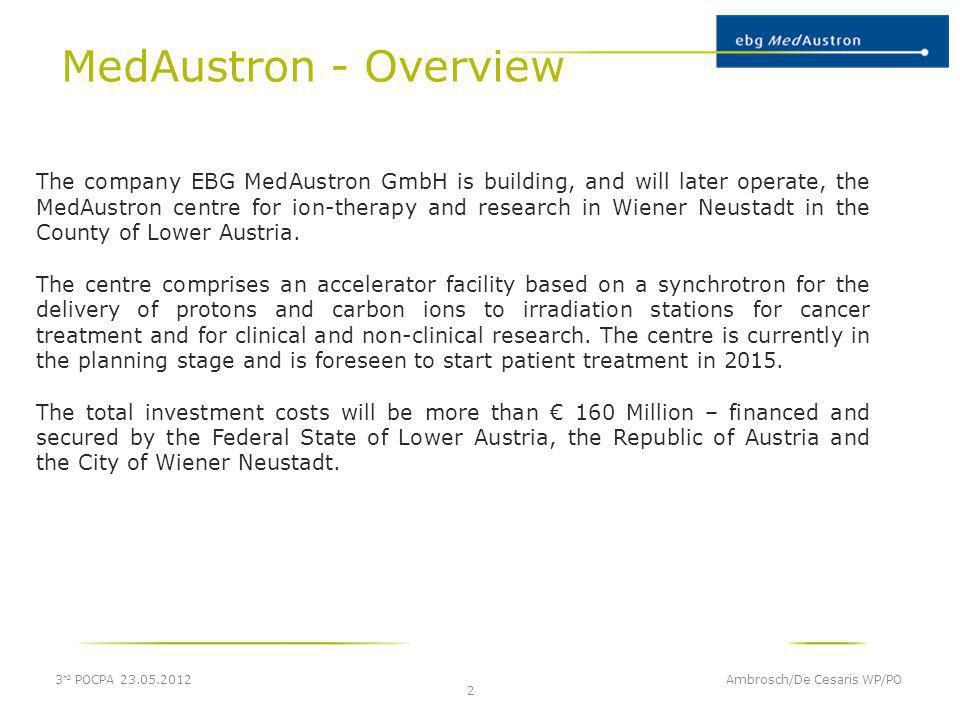 MedAustron - Overview