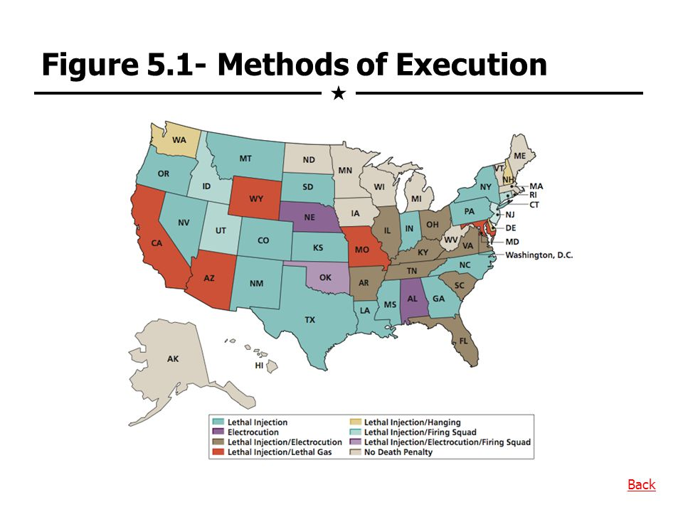 Figure 5.1- Methods of Execution