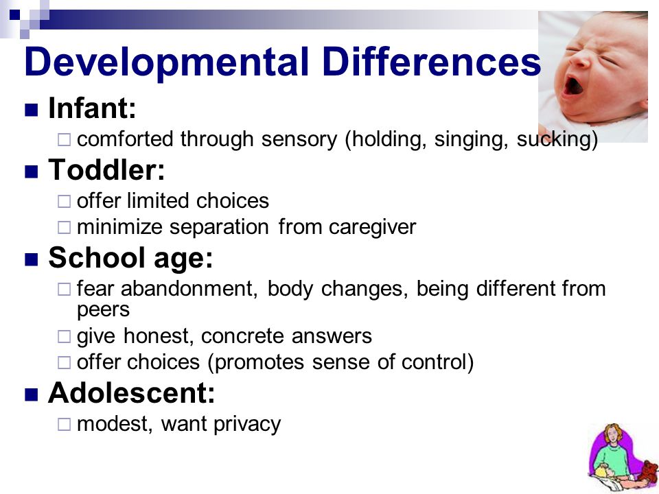 Developmental Differences