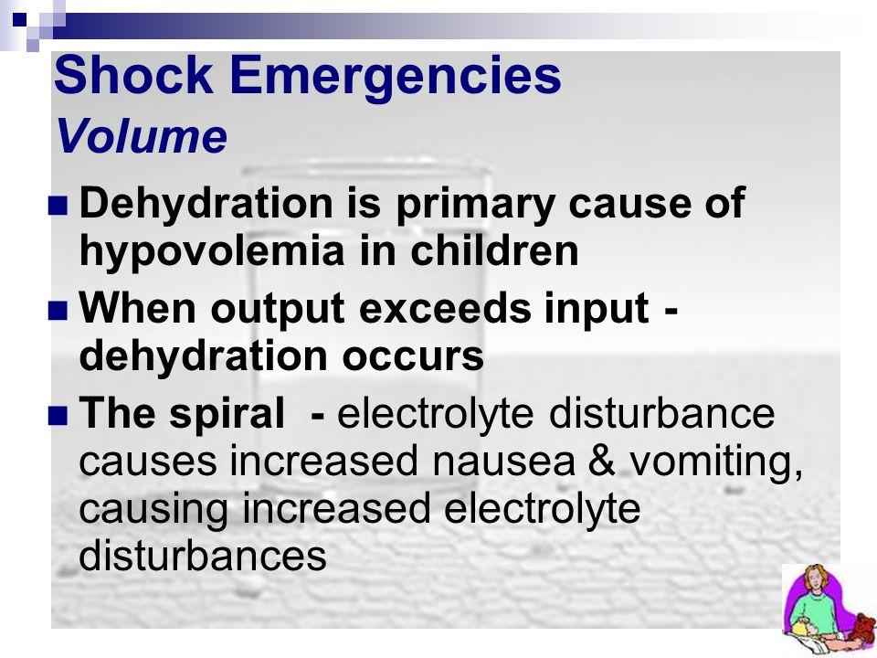 Shock Emergencies Volume