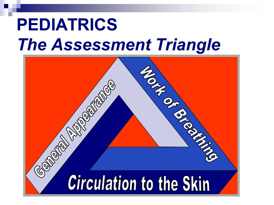 PEDIATRICS The Assessment Triangle