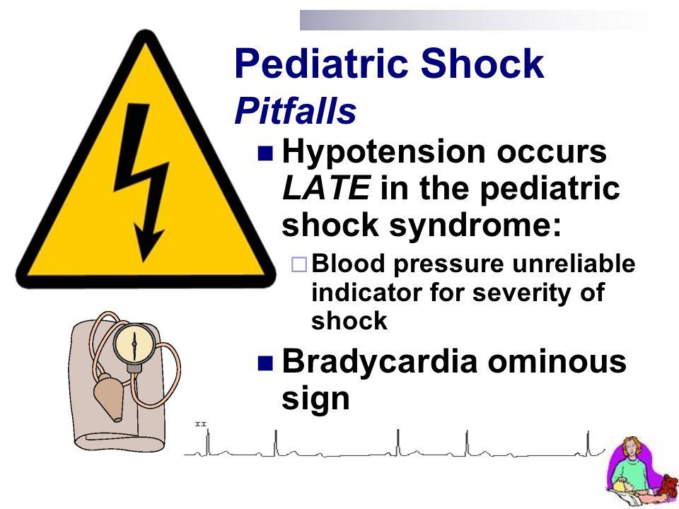 Pediatric Shock Pitfalls