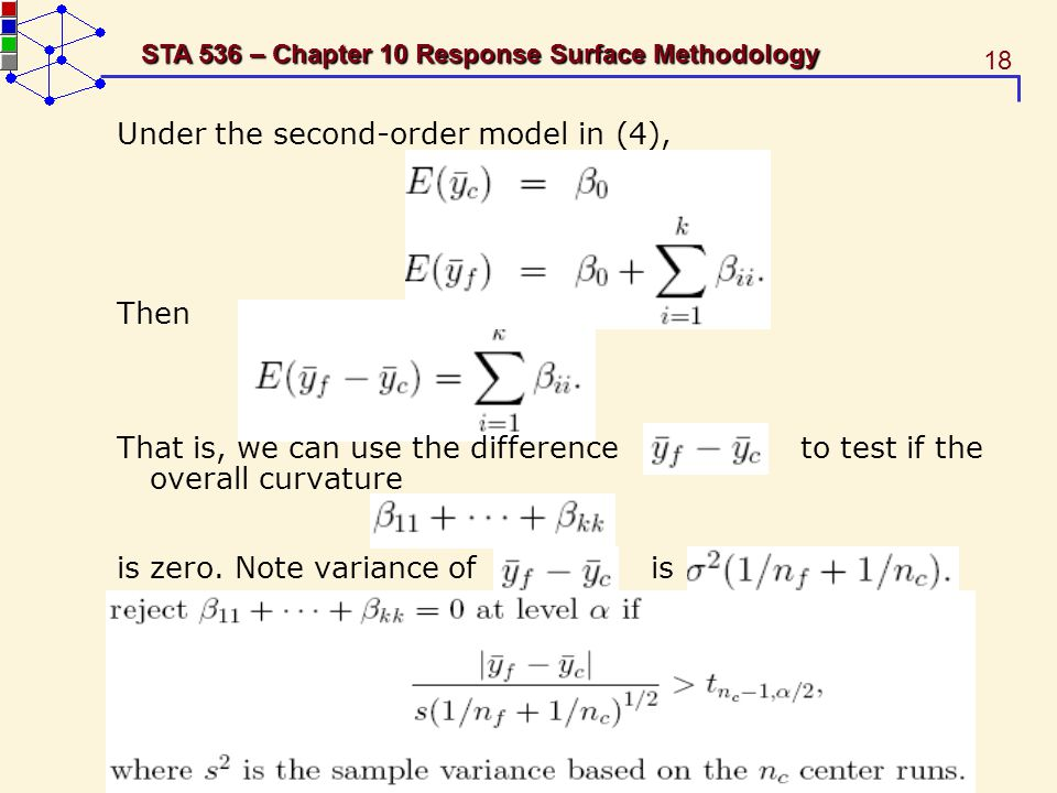 Under the second-order model in (4),