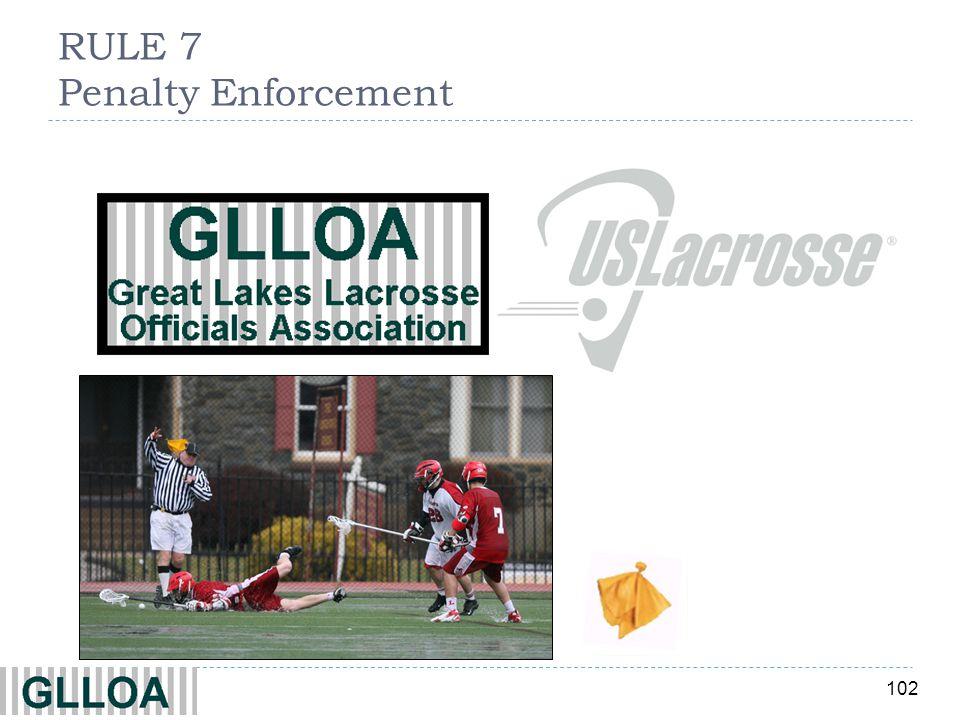 RULE 7 Penalty Enforcement
