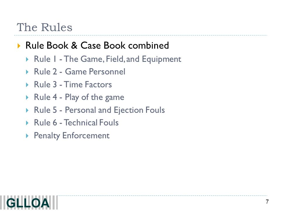 The Rules Rule Book & Case Book combined