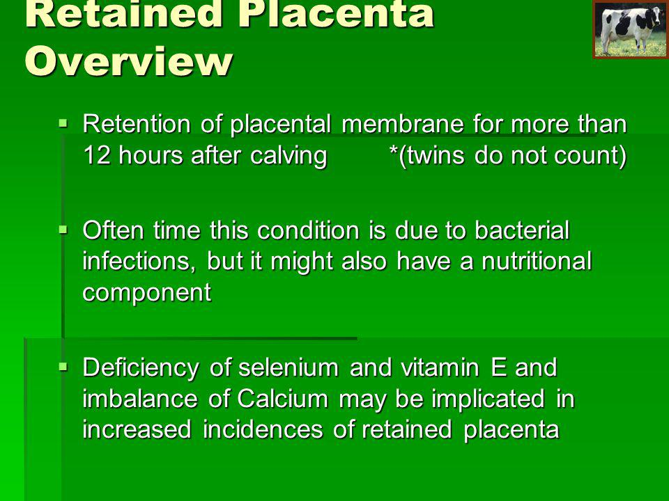 Retained Placenta Overview